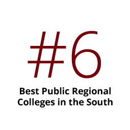 Infographic: No. 6 Best Public Regional College in the South