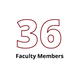 Infographic: 36 Faculty Members
