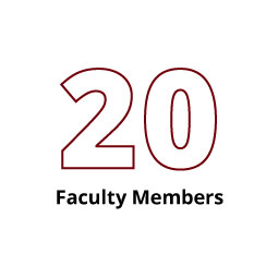 Infographic: 20 Faculty Members