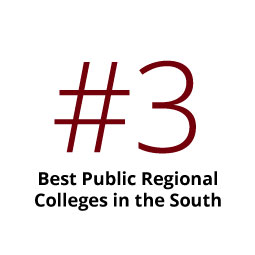 Infographic: No. 3 Best Public Regional College in the South